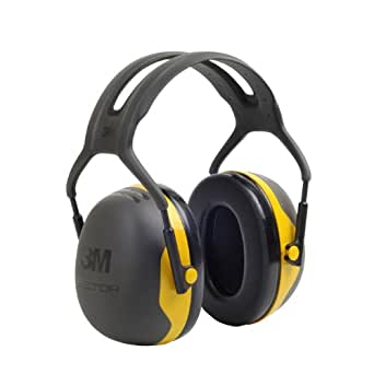 3M Peltor Kapselgehörschutz X2A Kopfbügel SNR 31 dB schwarz und gelb