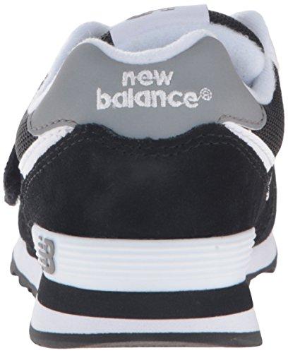 New Balance Unisex-Kinder K_574v1d Low-Top Schwarz