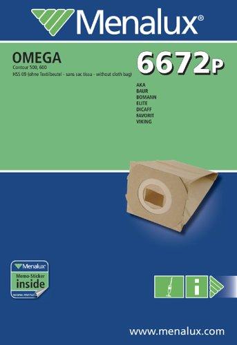 Menalux 6672 P, 10 Staubbeutel