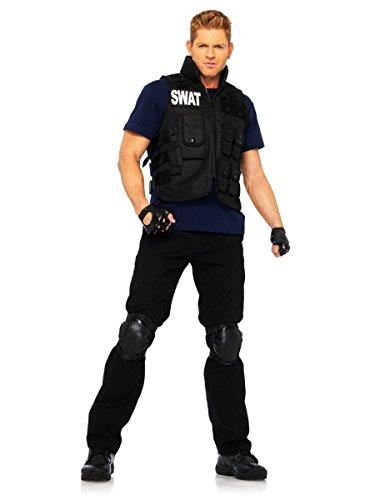 Leg Avenue Jungen Herren Swat Team Kostüm (Jungen Swat Für Team Kostüm)