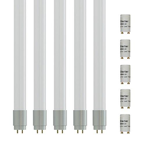 Preisvergleich Produktbild 5-er Pack - 61025 - ZoneLED SET - 150cm LED Röhre T8 G13 - 22W (ersetzt 58W Gasröhre) - Tageslicht 4000K - 2000lm - 180° Abstrahlwinkel…