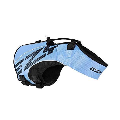 EzyDog Premium Schwimmweste Hund - DFD X2 Boost Hundeschwimmweste - Rettungsweste für Hunde - Größenverstellbar mit Griff und Reflektoren