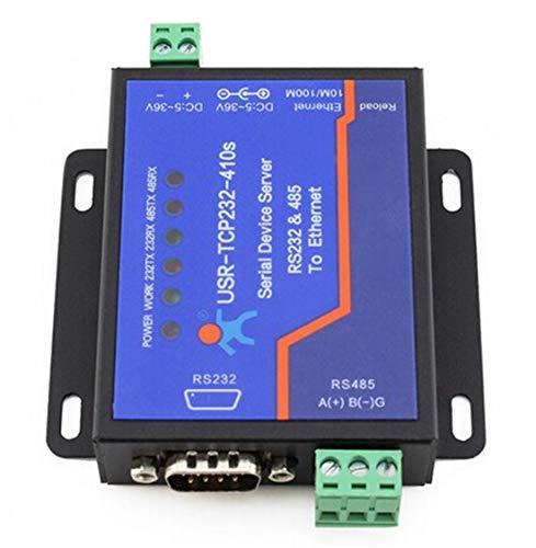 usriot USR-TCP232-410S Terminal de alimentación ininterrumpida RS232RS485A TCP/IP conversor Serial Ethernet Servidor de Dispositivos