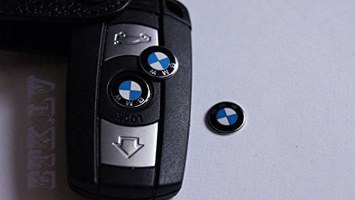 Llave Escudo Mando Logo BMW Serie 3 6 1 5 7 Metal