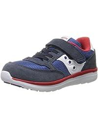 Saucony Jazz Lite Sneaker Toddler Little Kid Navy/Cobalt/Red 9.5 M US Toddler