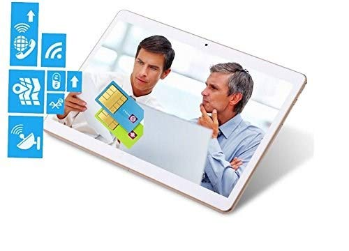 Tablet 10 Zoll 1920*1200 Full HD IPS Touchscreen Android7.0, Dual Kamera 2MP und 5MP, 2GB RAM 32GB Speicher Quad Core CPU, WiFi/ WLAN/ Bluetooth/ GPS TYD-107(weißen)