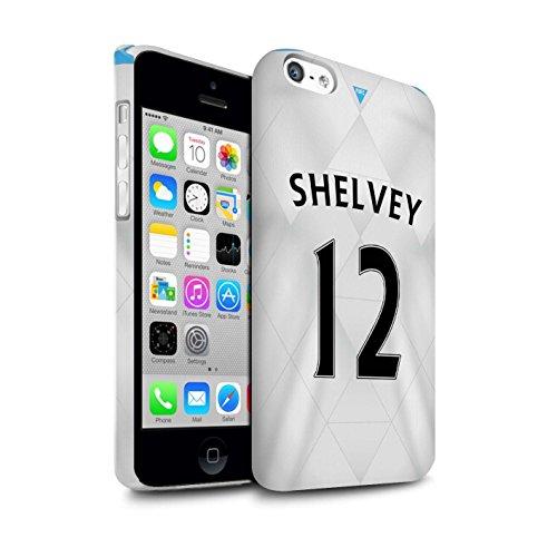 Offiziell Newcastle United FC Hülle / Matte Snap-On Case für Apple iPhone 5C / Pack 29pcs Muster / NUFC Trikot Away 15/16 Kollektion Shelvey