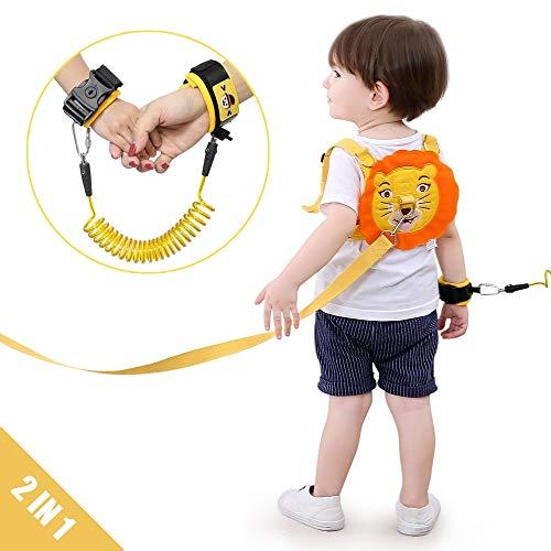 Lehoo Castle Imbracatura di Sicurezza per Bambini, 2m Anti Perso Cinturino Cintura, Imbracature e guinzagli per bambini piccoli di sicurezza