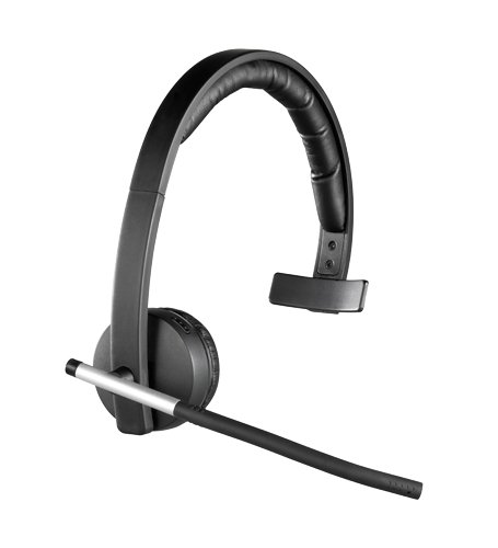 Logitech Wireless Headset Mono H820e schwarz -