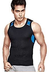 Dixcy B1000 Mens Cotton Vest DB1000-XL(Color-Assorted)(Pack Of 2)