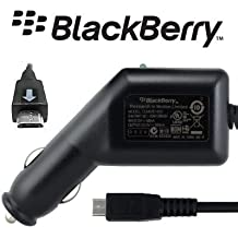 100% Genuine Blackberry Torch 9800 / Curve 3G 9300 / 8520 / Bold Touch 9900 / 9930 Micro USB In Car Charger ASY-18083-001