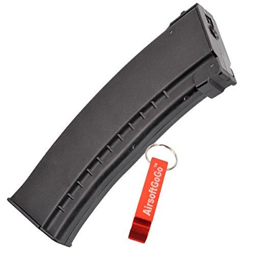 Ak74 Guns Airsoft (CYMA 150rd Magazin für AK74 Softair AEG- AirsoftGoGo Schlüsselanhänger Inklusive)