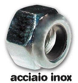 CONTRATUERCAS DE ACERO INOXIDABLE DIN 985 TAMAñO 6 MM CONF  200 PC