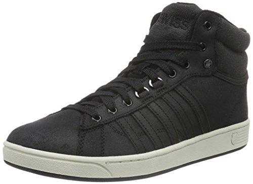 K-Swiss Hoke Mid C Cmf, Baskets Basses Homme Noir (Black/Black)