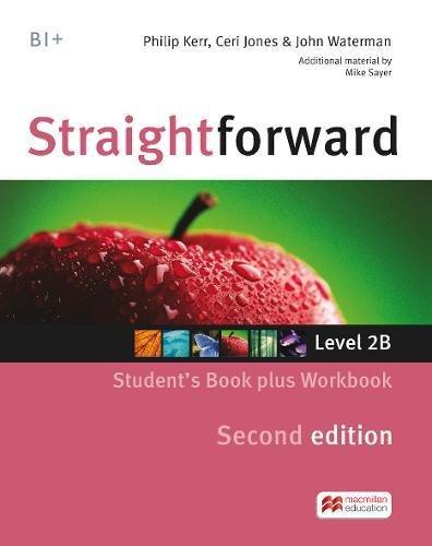 STRAIGHTFWD B1+ Sb&Ab Pk 2nd Ed (split) (Straightforward 2nd)