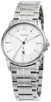 Orphelia 132-2708-88 - Reloj analógico de Cuarzo para Mujer con Correa de Acero Inoxidable, Color Plateado de Orphelia