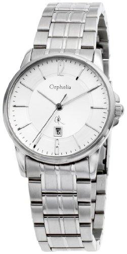 Orphelia 132-2708-88 - Reloj analógico de cuarzo para mujer con correa de acero inoxidable, color plateado