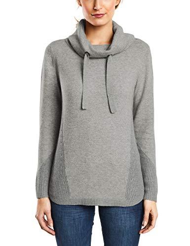 Cecil Damen 300758 Pullover, Grau (Mineral Grey Melange 10327), XX-Large (Herstellergröße: XXL) -
