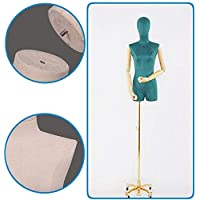 LRHYG Female Tailors Dummy Mannequin Dressmakers Torso Display Bust For Dressmakers Fashion Students Adjustable Height Wood Arm