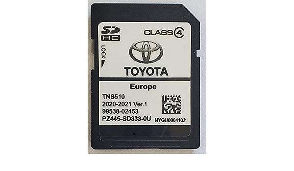 Sd Karte Gps Europe Tns510 Toyota 2020 2021 Ver 1 Pz445 Sd333 0u Navigation