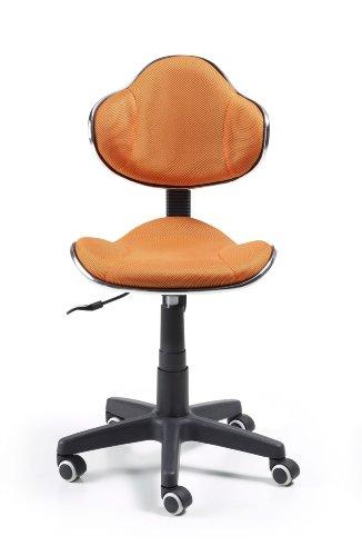 Silla de oficina juvenil, color naranja