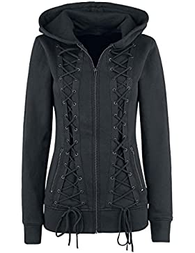 Gothicana by EMP The Witching Hour Chaqueta con capucha Mujer Negro