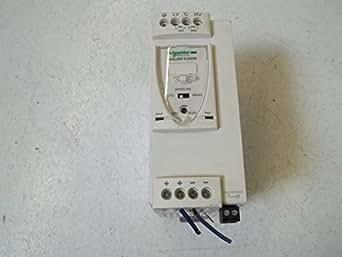 Schneider electric abl8rps24050Source d'alimentation à découpage modulaire, 1ou 2phases, 5A courant, 120W, 200-500V AC entrée, 24V DC Sortie