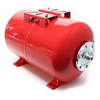 50Litres Réservoir pression à vessie pour la surpression domestique cuve ballon, suppresseur pompe