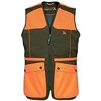 Gilet de chasse ProHunt Grouse Kaki - Orange | Ligne Verney-Carron