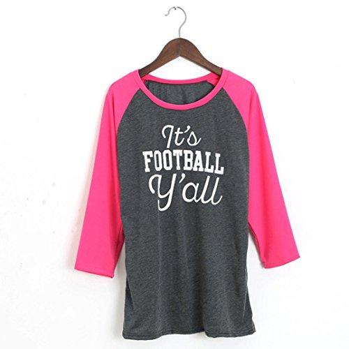 Ouneed® -  Giacca sportiva  - Camicia - Donna rosa acceso