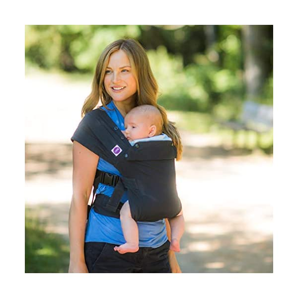 Izmi Baby Carrier (3.2kg-15kg), New Born Carrier, Multiple Carrying Positions, Midnight Blue Izmi Use from birth (3.2kg-15kg), new born cushion inserts included with carrier 4 carrying positions: front carry, outward facing carry, hip carry or back carry Adjustable seat width enables the Izmi Baby Carrier to adapt as your little one grows 4