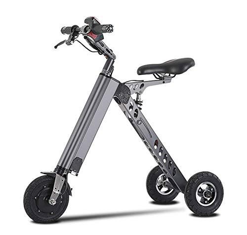 JL-Q Bicicletas eléctricas de Tres Ruedas de Las Mujeres vehículo eléctrico Smart Balance Car K-Fold Bicicleta eléctrica Adulta Scooter Unisex