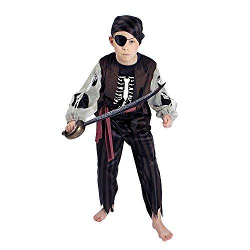NEU Kinder-Kostüm Geisterpirat, Gr. (Kostüme Kind Pirat Geisterschiff)