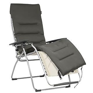 Lafuma Relaxliege Xl Braun. Lafuma Gepolsterte Air Comfort Auflage Für  Relax Liegestühle, Taupe, LFM2604 7806