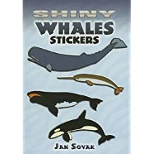 Shiny Whales Stickers (Dover Little Activity Books Stickers)