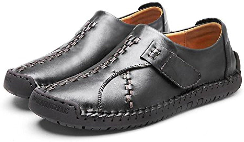 Herrenschuhe Leder Vier Jahreszeiten Comfort Loafers  Slip Ons Split Joint fuumlr Casual Office  Karriere Party
