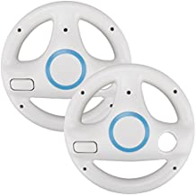 2x Racing Wheel for Nintendo Wii - White