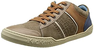 Kickers Jexpire, Sneakers Basses homme, Marron (Marron Clair), 42 EU