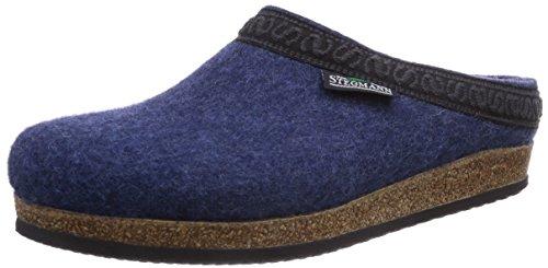 Stegmann 108, Unisex-Erwachsene Pantoffeln, Blau (jeans 8813), 42 EU (8 Erwachsene UK)