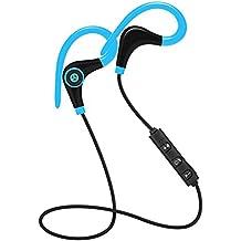 Audífonos Bluetooth inalámbricos con micrófono y Control de Volumen, estéreo, Bluetooth, para iPhone