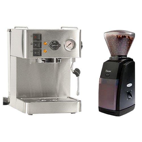 My Espressino Coffee Machine and Baratza Encore Grinder Combo