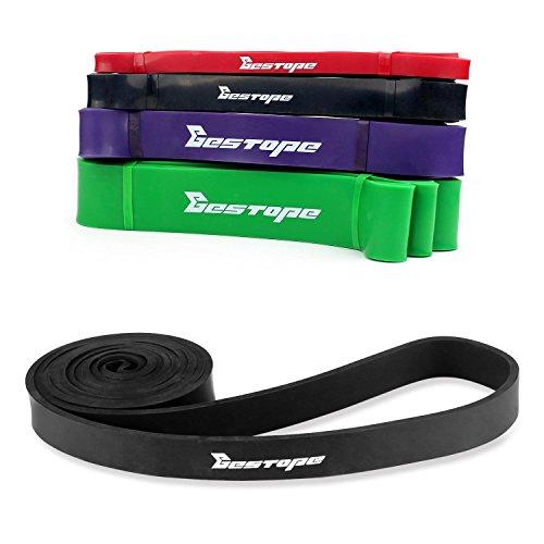 [Resistance Band] BESTOPE® Premium Latex Pull Up Fitnessbänder Widerstand-Bänder Trainingsbänder Strap Training Loop CrossFit-band für Stärke Gewichtstraining und - Gummi-band-größen