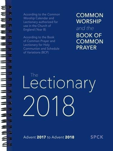 Common Worship Lectionary 2018: Spiral Bound