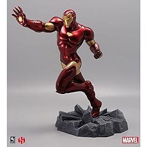 sémic–spiro02–Estatua Iron Man–Captain America–Civil War–Marvel 8