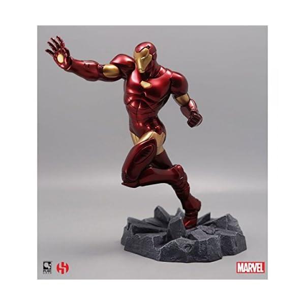 sémic–spiro02–Estatua Iron Man–Captain America–Civil War–Marvel 1