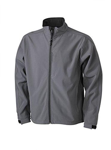 James & Nicholson Men's Softshell Jacket Carbon