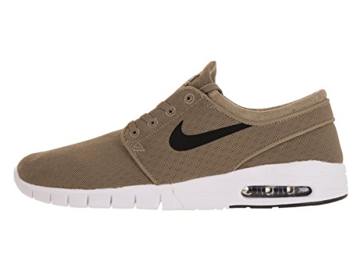 Nike Stefan Janoski Max, Chaussures de Skate Homme, 47.5 EU Vert - Verde (Verde (Khaki/Black-White))