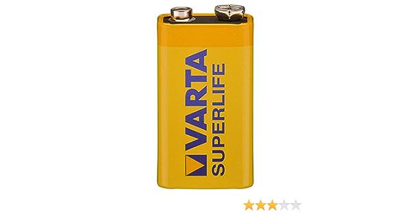Varta Longlife Zinc Carbon Battery 9 V Block Elektronik