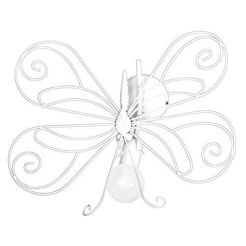 MOTYL I / Schmetterling Weiß Wandleuchte Wandlampe Lampe Kinderzimmerleuchte Kinderzimmerlampe