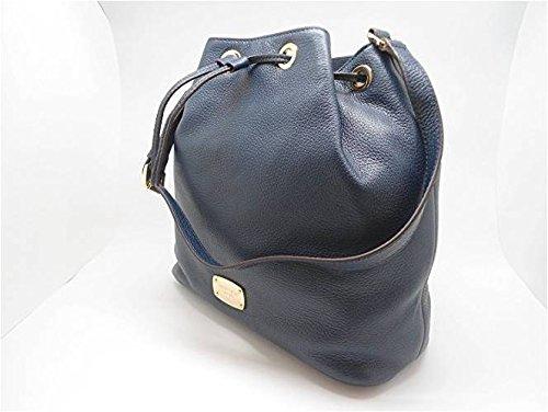 Michael Kors - Bolso mochila de Piel Lisa para mujer azul azul marino